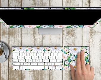 "New Beginnings Skin Vinyl Decal for iMac 21.5"" 27"" & iMac Retina 5k (Includes Wireless Apple Keyboard / Apple Magic Touchpad / Foot)"