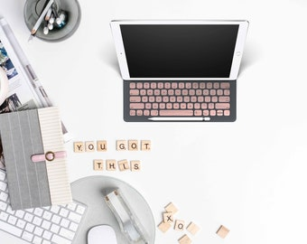 "Rose Gold Chrome Keyboard Key . Keycal . Apple Smart Keyboard Folio iPad Pro . iPad Pro 12.9"" Magic Keyboard . iPad Pro 11"" Magic Keyboard"