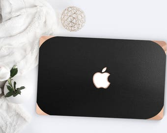 Platinum Edition . Macbook Pro 13 Case Minimalist Matte Black Leather . Distinctive  .   Macbook Pro 13 A2251 A2159 . Pro 16 Touch A2141