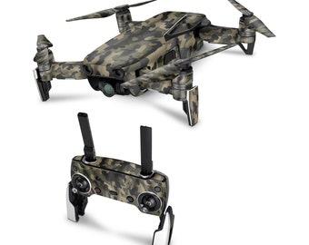 DJI Drone Camouflage #6 Vinyl Skin Decal for DJI Tello Drone . Spark . Phantom 4 . Mavic Pro . Mavic Air . Mavic 2 Pro . Inspire 1 DJI Osmo