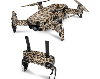 DJI Drone Leopard Vinyl Skin Decal for DJI Tello Drone . Spark . Phantom 4 . Mavic Pro . Mavic Air . Mavic 2 Pro . Inspire 1 DJI Osmo