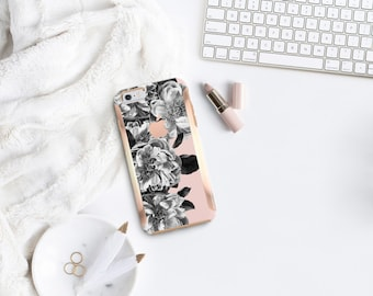 Brushed Black Rose Quartz Rose Gold Hard Case Otterbox Symmetry   iPhone SE 2020   iPhone 11 Pro Max   iPhone XR      iPhone 11