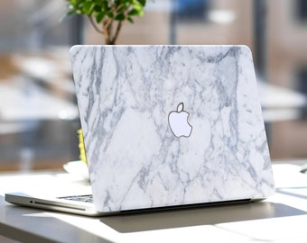 Makrana White Marble Skin for Apple Macbook Air , Macbook Pro , New Macbook Pro 13 Touch , New Macbook 12 , New Macbook Pro 15 Touch