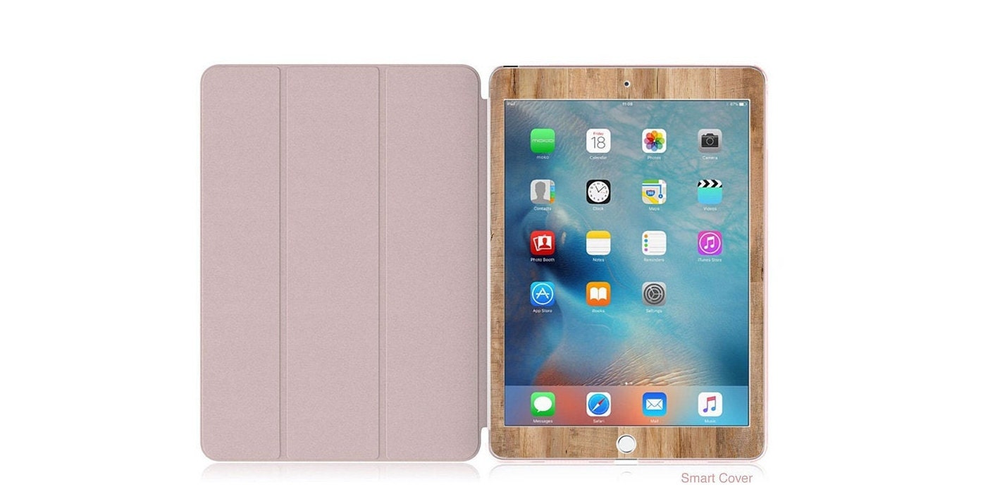 buy popular 13846 ce5ca Rustic Wood with Rose Gold Smart Cover Hard Case . Kate Spade ...