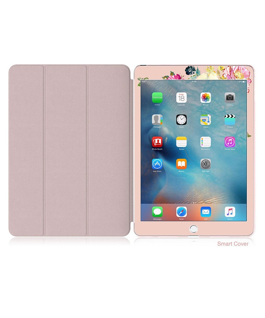 quite nice a1694 30656 Dust Storm with Rose Gold Smart Cover Hard Case . iPad Pro 12.9 2018 ...