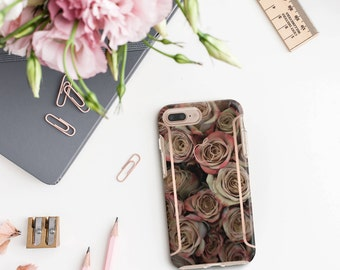 iPhone 8 Case iPhone 8 Plus Case iPhone X Rose Rustique and Rose Gold Case Otterbox Symmetry