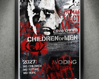 "Children of Men - ""Human Remains"" 13x19"