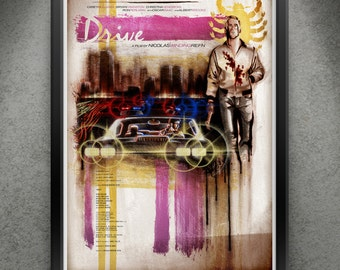 "Drive - ""Graffitti Hero"" 13x19"