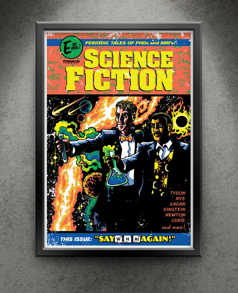 Science Fiction  Say W-H-At Again 13x19 image 0