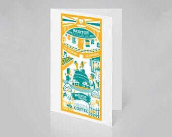 Brixton Village, London card