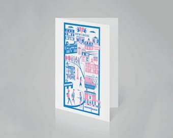 New Cross Card | South London card | New Cross illustration | SE14 print