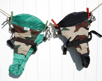Multi Stripe The Swing Swaddle Child Safety Harness for Outdoor Swinging