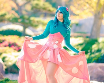 Signed Print: Venusaur inspired cosplay by Dustbunny