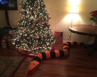 tree eating snake nightmare before christmas