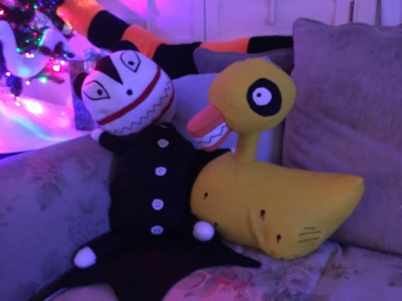 Evil Christmas Characters.Large Evil Duck Life Size Stuffed Decoration Nightmare Before Christmas