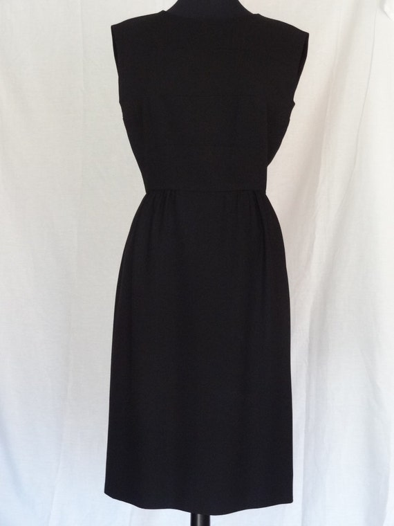 DRESS SALE!!! / 1950s Dress / Classic Little Black