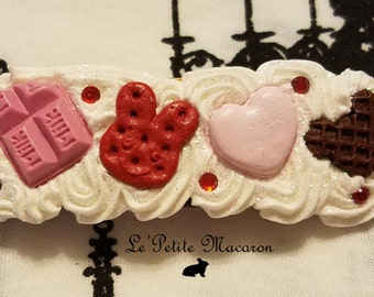 Large Sweet Lolita Deco Barrette 4