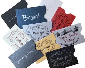 Tip Slips -- Fun and Unique Gratuity Envelopes