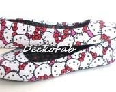 Hello Kitty Inspired Flats - Custom Flats - Ballet Flats - Women's Flats - Women's Shoes - Custom Shoes - Wedding - Birthday Gift - Shoes