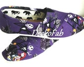 The Nightmare Before Christmas Inspired TOMS - Custom Toms - Women's Custom Shoes - Canvas Shoes - Flats - Birthday Gift - Wedding - Shoes