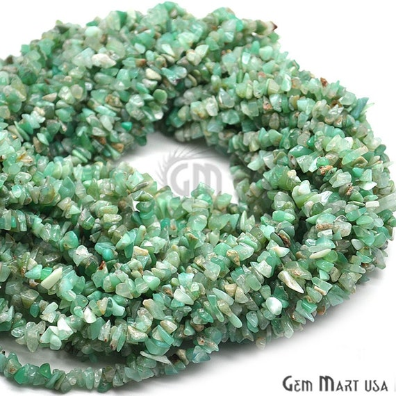 """36/"""" Autumn Jasper Gemstone Natural CHIPS 6-8mm Continuous Necklace Strand"""