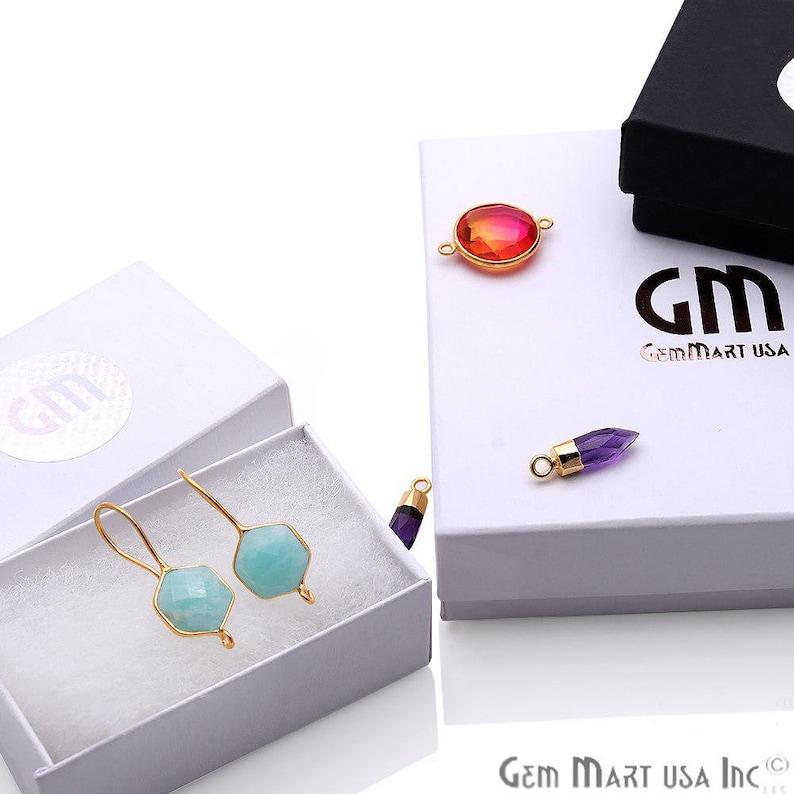 DIY Pink Geode Earring Gold Electroplated Agate Slice Earring Supplies Boho Gemstone Earring DPER-90628 Earring Making Connector