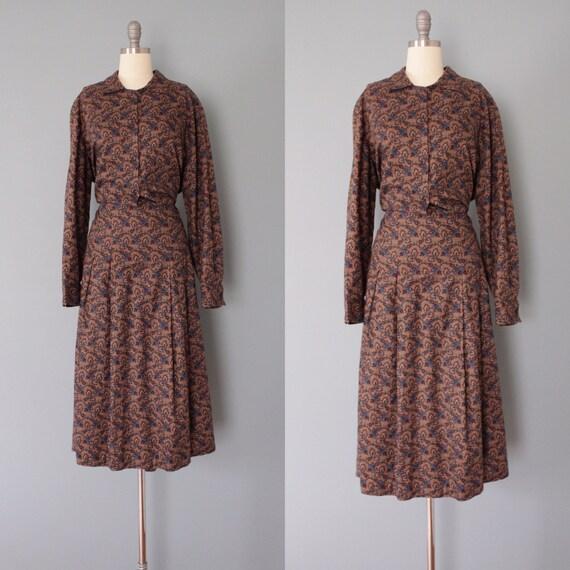 BOTANICAL maxi dress   artist shirtdress   cotton