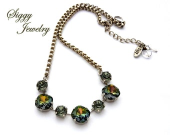 fff81666450af Designer jewelry made with Swarovski crystals. by SiggyJewelry