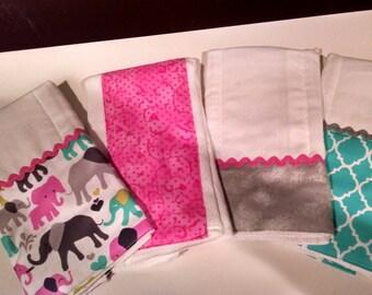 Elephant Burp Cloths