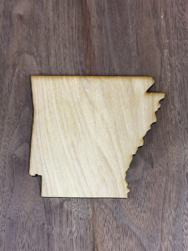 Arkansas State Outline SVG Vector File image 0