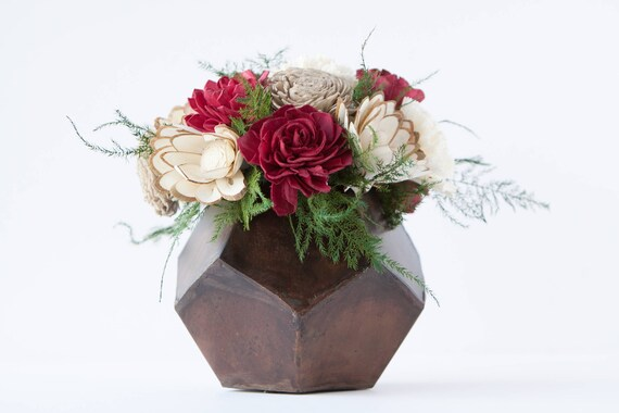 Jolly Santa Flower Arrangement - Ships FREE