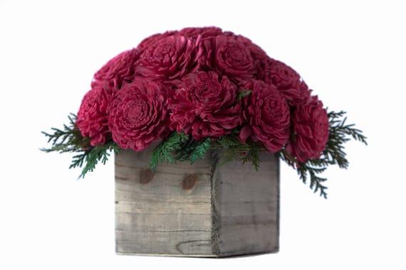 Holiday Joy Flower Arrangement - Ships FREE