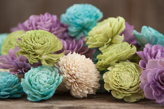 Bright Fun Sola Flower Mix - Available in sets of 45 and 100