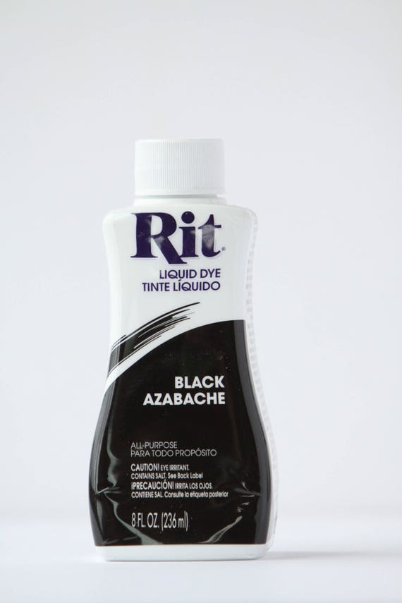 Black Rit Liquid Dye