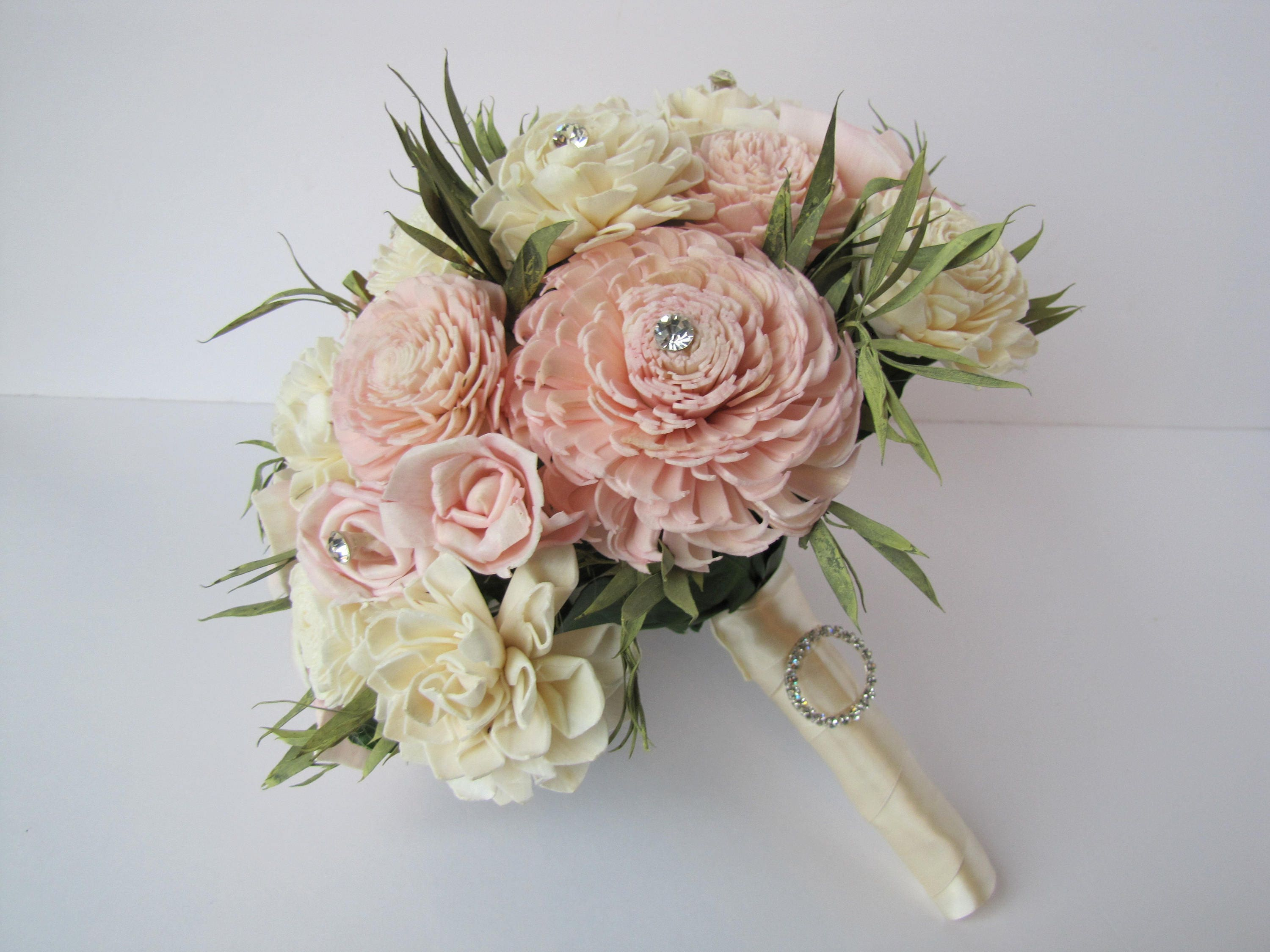 Blush pink bridal bouquet keepsake bridal bouquet sola flower blush pink bridal bouquet keepsake bridal bouquet sola flower bridal bouquet sola flower bouquet pink wedding flowers izmirmasajfo