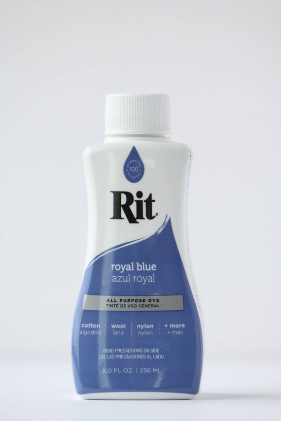 Royal Blue Rit Liquid Dye