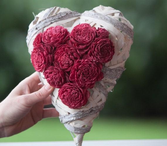 Heart Arrangement - Eco Friendly Keepsake Arraignment