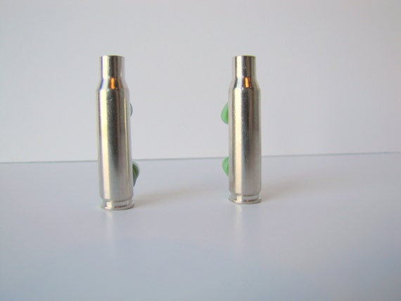 Silver Casing - Nickel Plated  308 Casing - Silver Bullet Shell