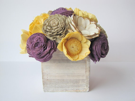 Sunny Arrangement - Available in multiple sizes - Floral Arrangement -Flower Centerpiece -Wedding Centerpiece -Rustic Centerpiece