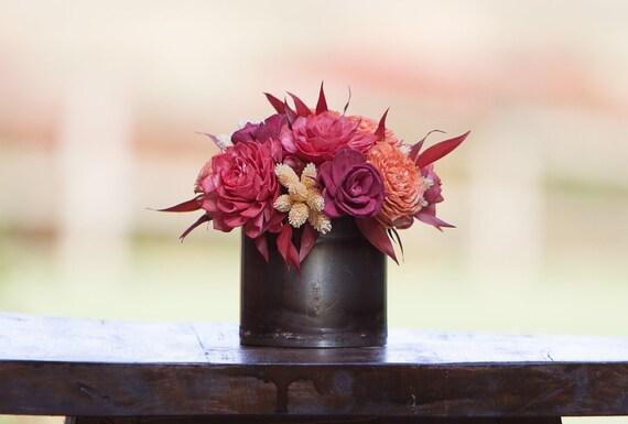 Fall Colors Arrangement - Keepsake Flowers, Sola Flower Arrangement
