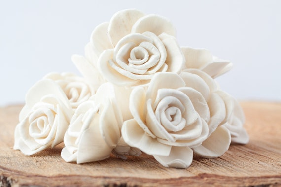 Marhia Rose Sola Flowers - Available in set of 10, 50 and 100