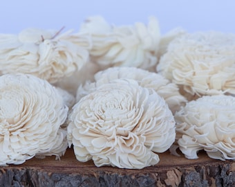Large Chorki Sola Flowers - Sold in Sets of 10, 50 & 100