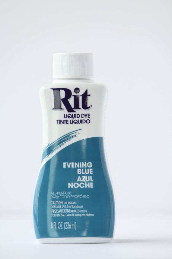 Evening Blue Rit Liquid Dye