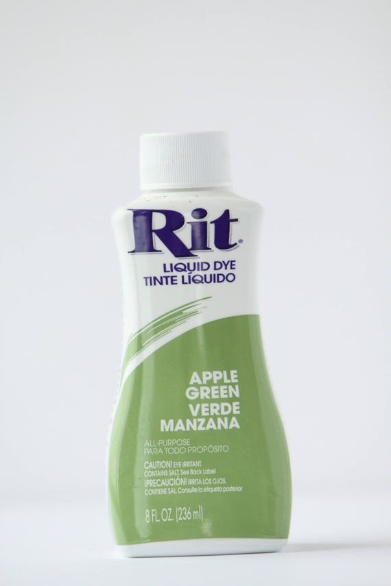 Apple Green Rit Liquid Dye