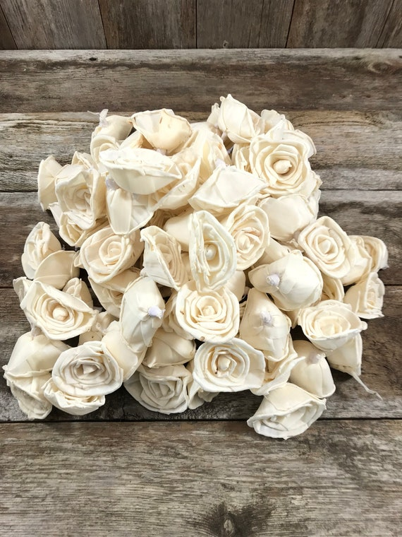 Grade B Classic Rose Sola Flowers - Sets of 100