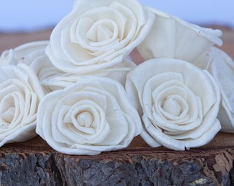 Classic Rose Sola Flowers - Sets of 10, 50 & 100 Available