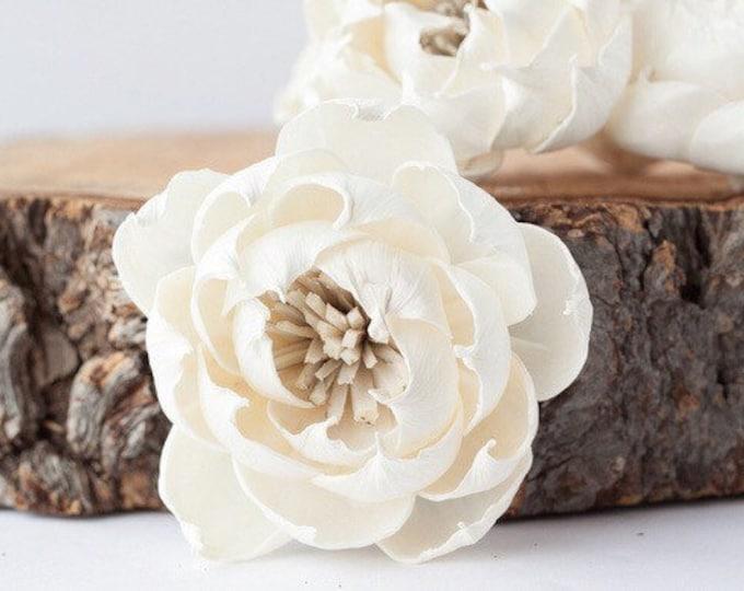 Marigold Sola Flowers - Set of 5 , Sola Flowers, Sola Flower, Wood Sola Flowers, Balsa Wood Flowers, Craft Flowers, sola wood flowers