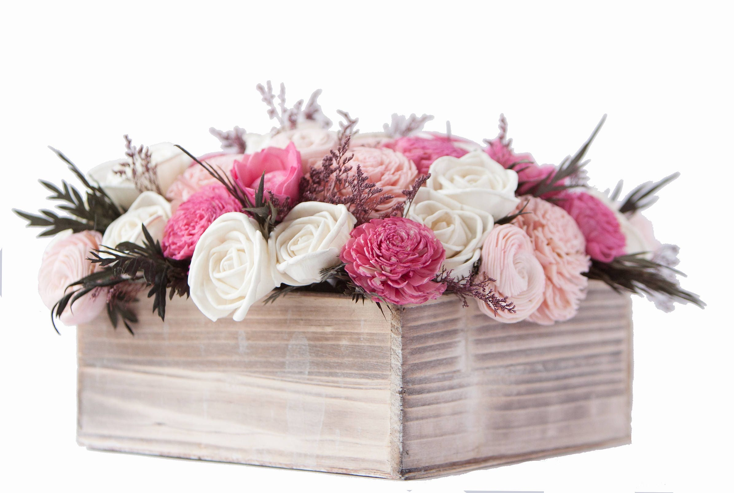 Large Pink And White Valentines Day Arrangement Valentines Flowers