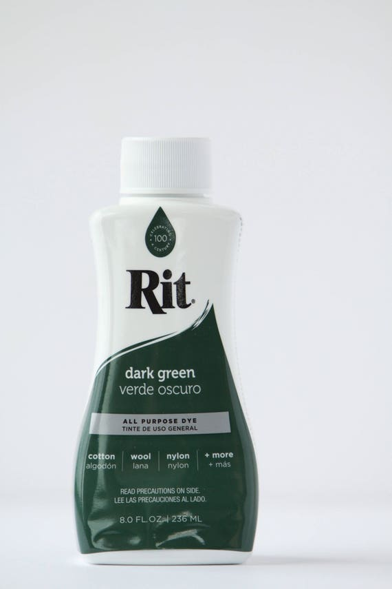 Dark Green Rit Liquid Dye