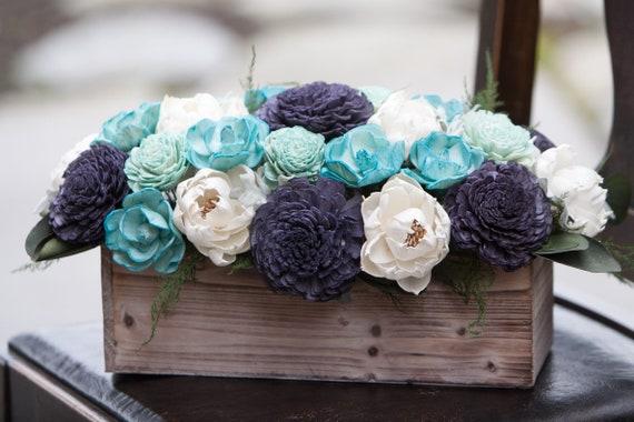 The Blues Rectangular Sola Flower Arrangement